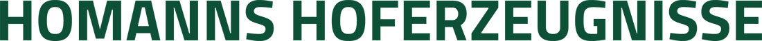 Homanns Hoferzeugnisse UG Logo